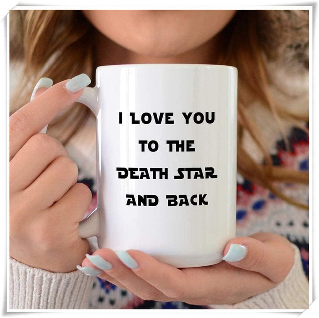 PerfectPrintedAQA - Funny Star Wars Mug, Valentines Day Gift, Darth Vader, Dark Side, Death Star, Yoda Mug, Star Wars Travel Mug, 11oz Ceramic Coffee Mug/Cup/Drinkware, High Gloss