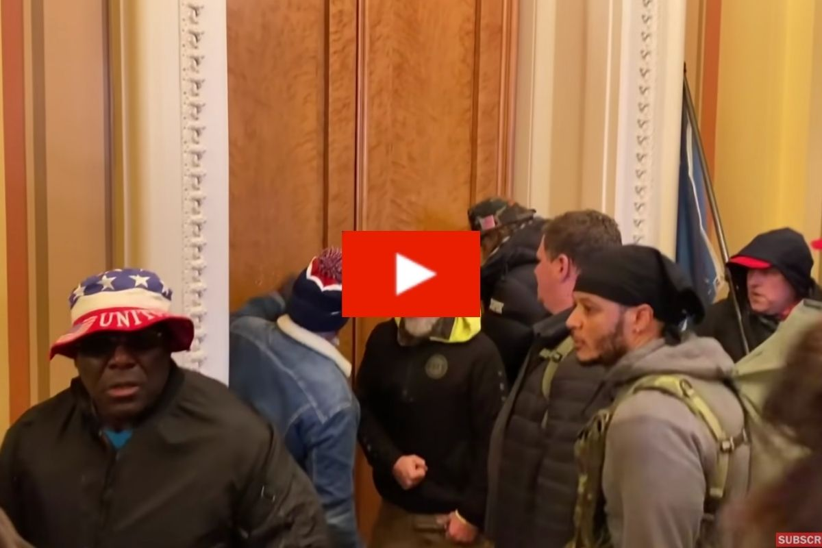 Pro-Trump Mob Smeared Poop in U.S. Capitol Hallways During Riot
