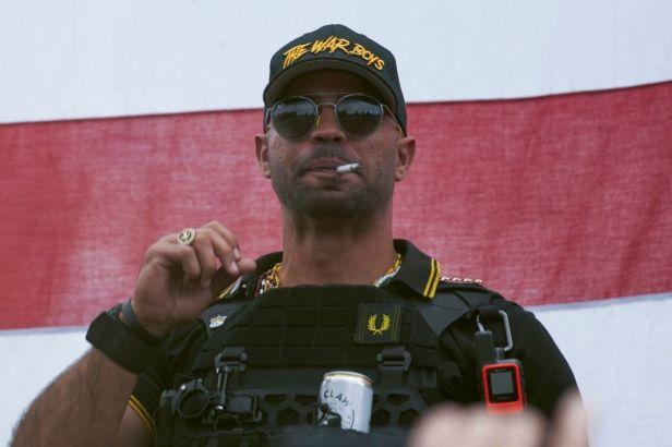 Proud Boys Leader Released After Arrest For Burning BLM Flag