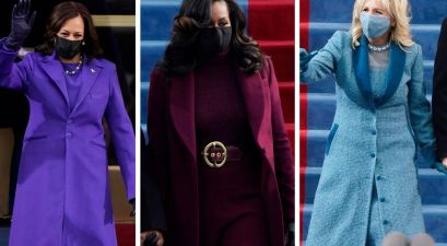 Kamala Harris, Michelle Obama and Dr. Jill Biden Serve Vibrant Looks on Inauguration Day