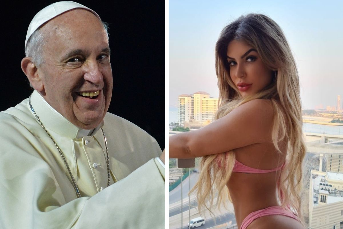 Nude Model Wants Pope Francis to 'Bless Her Playboy Shoot'
