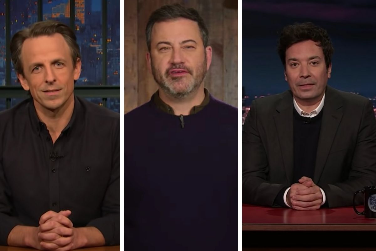 Late Night TV Hosts React to U.S. Capitol Riots