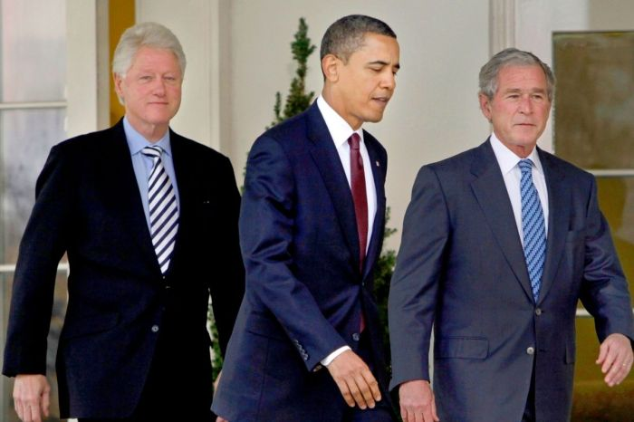 Former Presidents Obama, Clinton and Bush Honor Joe Biden as America's New Leader