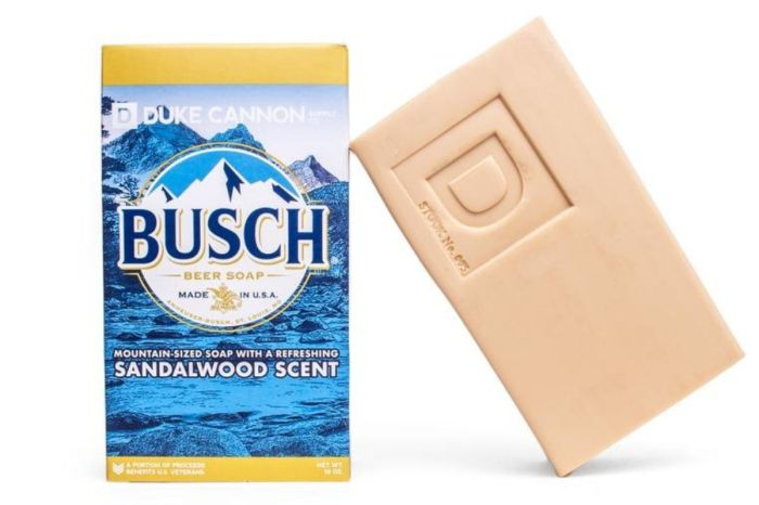 Good News Men, This Soap Is Made With Busch Light Beer!