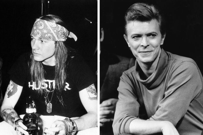 Axl Rose Once Threatened David Bowie For Flirting With His Girlfriend