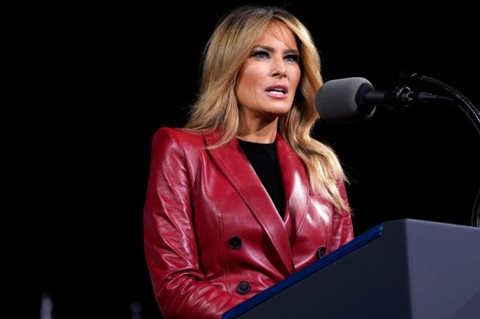 "Melania Trump Breaks Silence on Capitol Riot, Calls on Americans to ""Heal"""