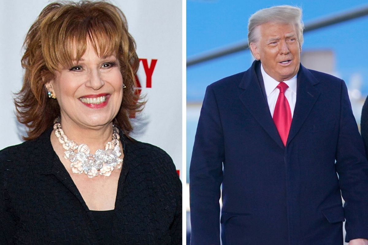 Joy Behar Claims Trump 'Made It His Business for Four Years to Rape This Country'