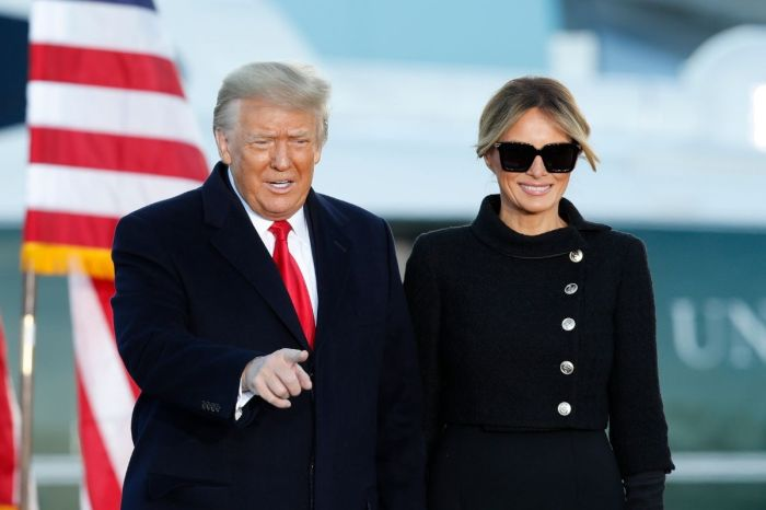 Trump Has Officially Left The White House, Tells Crowd 'We Will Be Back in Some Form'