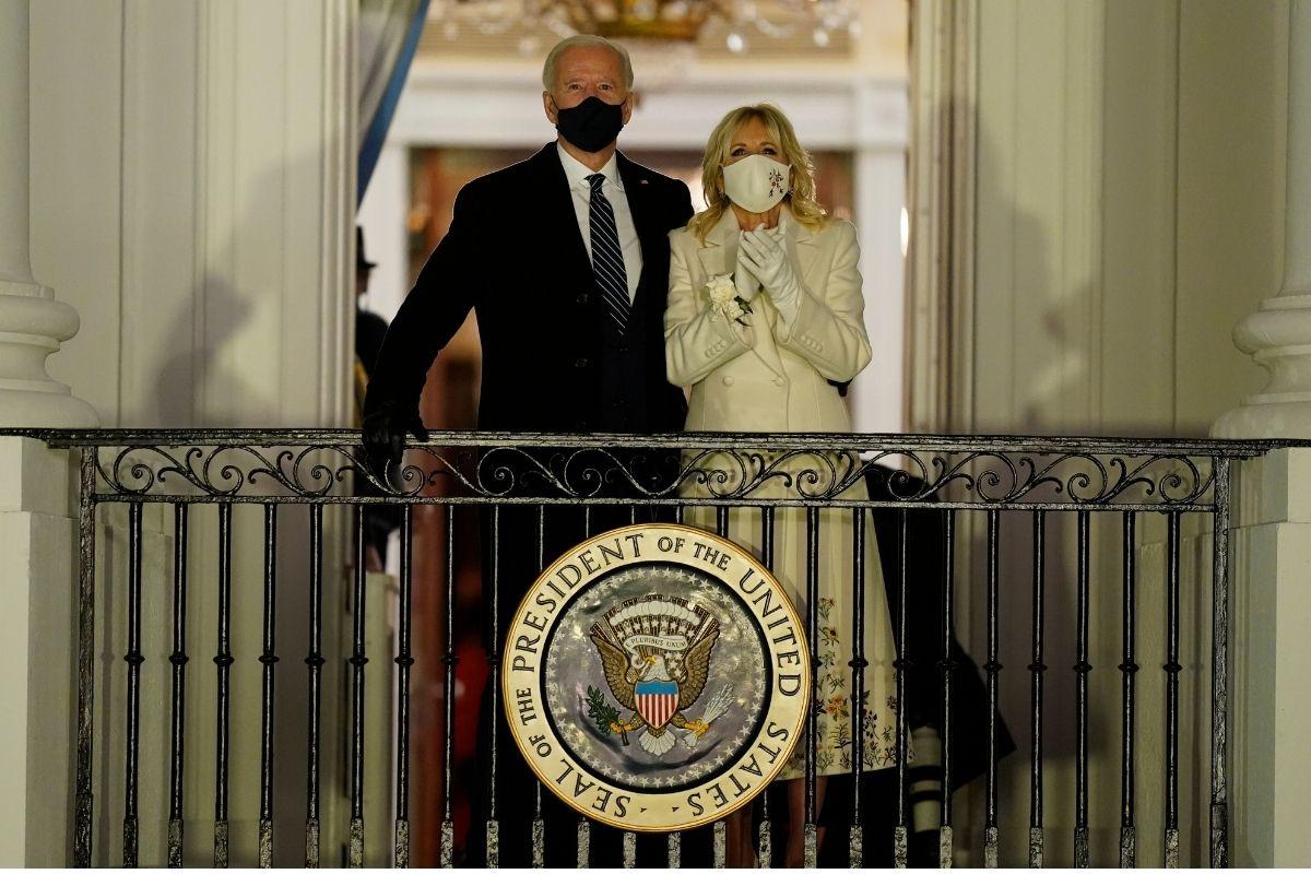 The Secret Message Hidden on Dr. Jill Biden's Inauguration Outfit