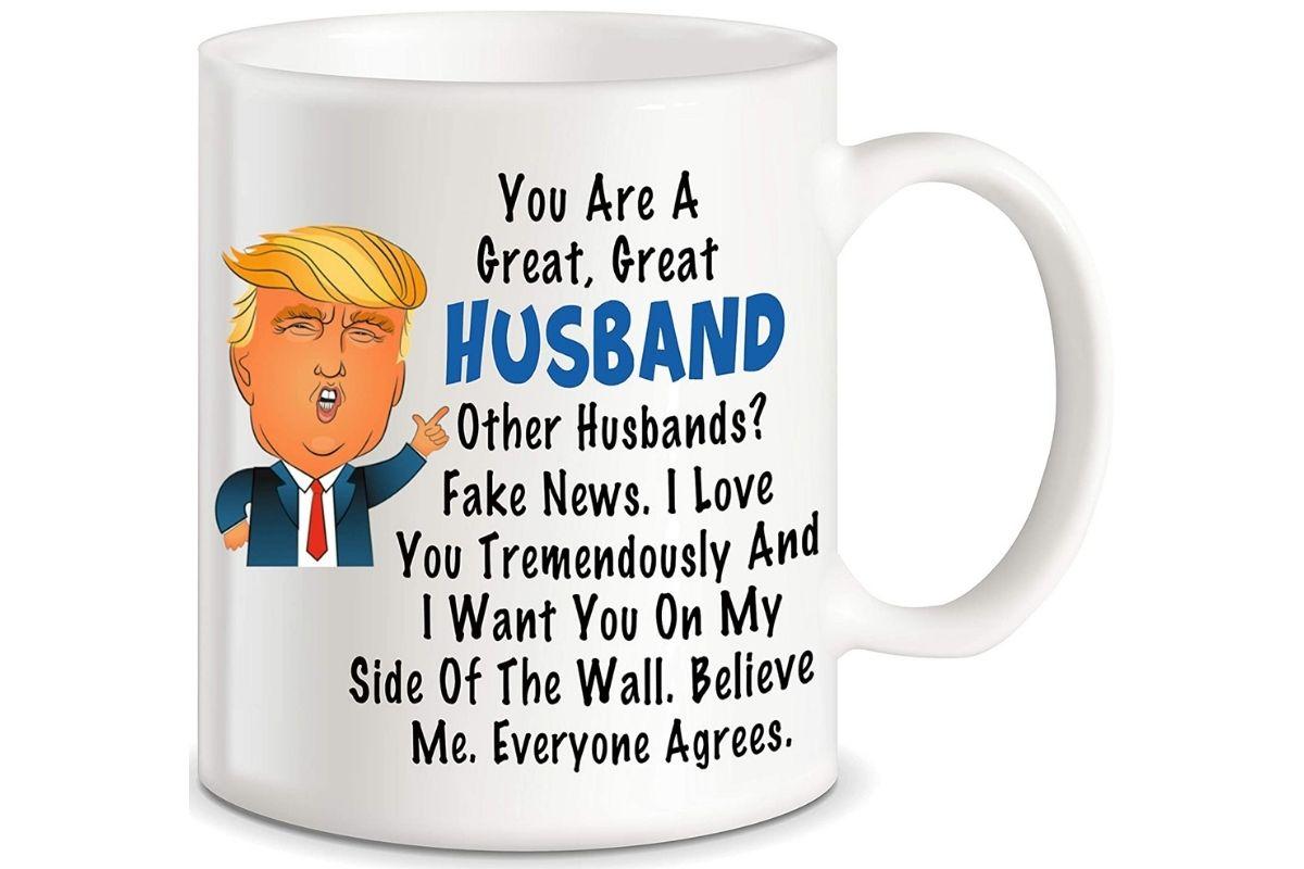 Funny Trump Coffee Mug Gift Idea For Him For Mom Or Dad Birthday Gift