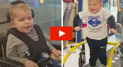 2-Year-Old Miraculously Walks Again After Being Paralyzed