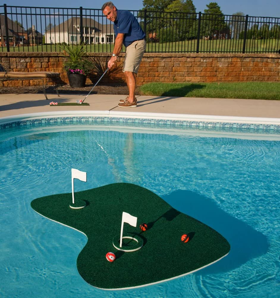 Blue Wave Aqua Golf Backyard Game, Green