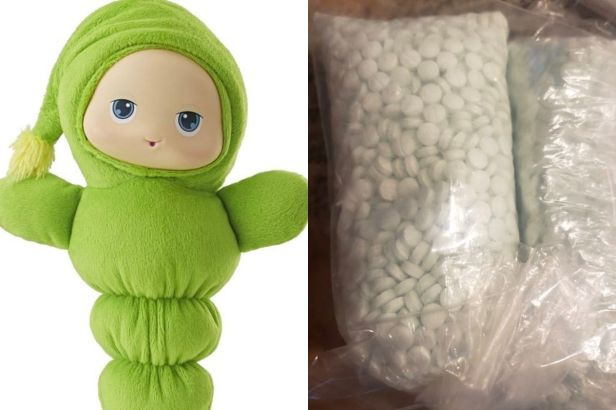 Mom Finds 5,000 Fentanyl Pills Inside Daughter's Thrift Store Toy