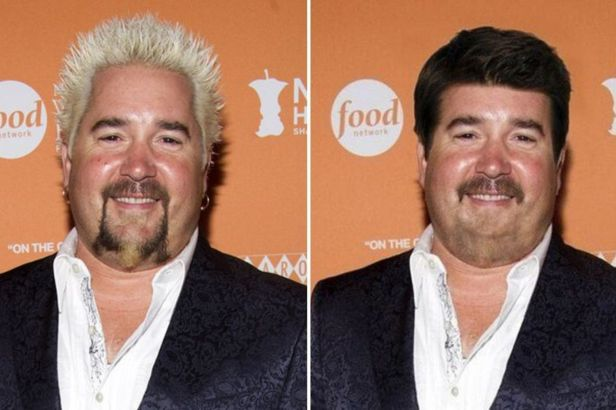 Would You Recognize Guy Fieri with Normal Hair?