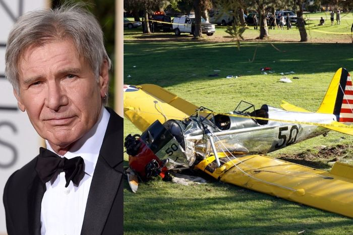 Every Single One of Harrison Ford's Airplane Mishaps (and Rescues)