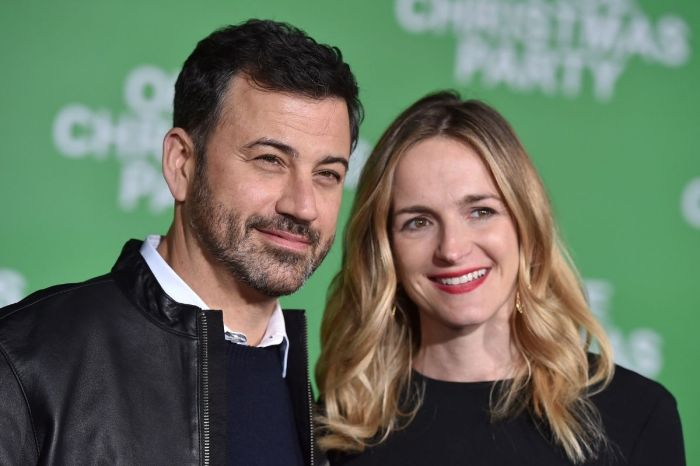 Jimmy Kimmel Married the Head Writer of His Show