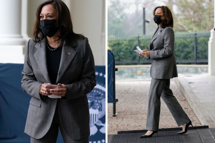 "Vice President Kamala Harris Criticized for Wearing Controversial ""Racist"" Brand"