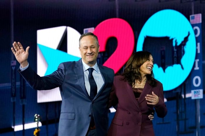 Kamala Harris and Doug Emhoff Met on a Blind Date!