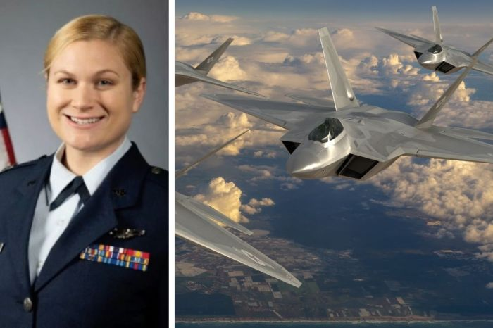 "Meet the Female Bomber Pilot Leading ""1st of its Kind"" Super Bowl Flyover"