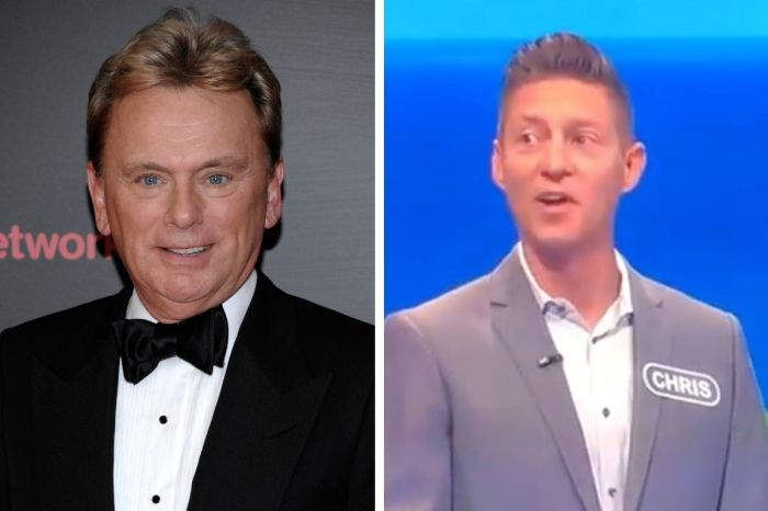 Host Pat Sajak Accused of Mocking Contestant's Speech Impediment