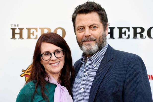 "Nick Offerman ""Proposed"" to Megan Mullally 3 Times Before She Officially Said Yes!"
