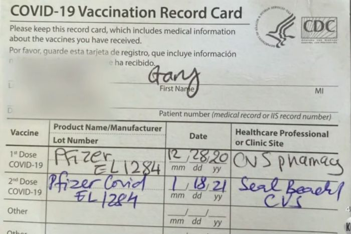 California Man Tests Positive For COVID-19 After Getting Second Vaccine Dose