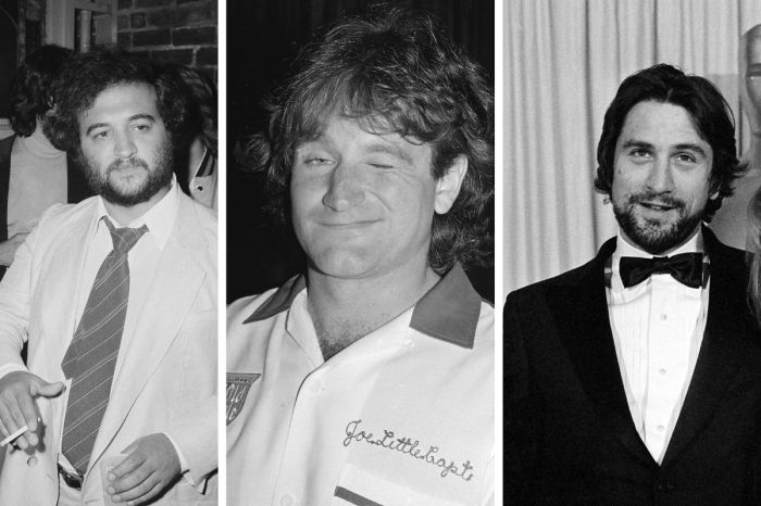 Robin Williams and Robert De Niro Reportedly Snorted Cocaine With John Belushi On The Night Of His Death