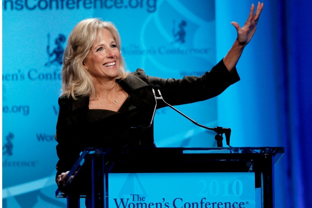First Lady Dr. Jill Biden Promises Free Access to Community College