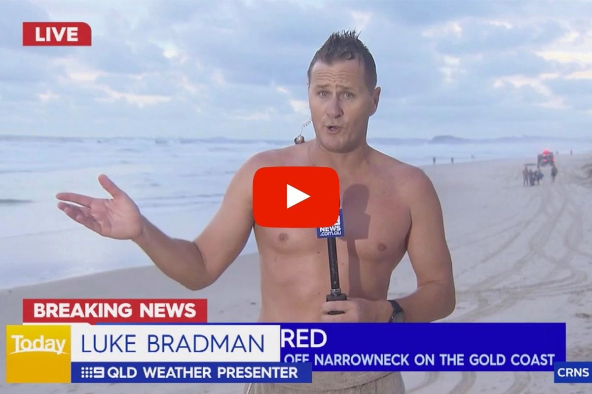Weatherman Pulls Body From Ocean During Live Broadcast