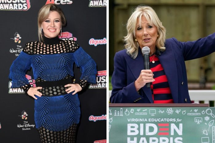 First Lady Dr. Jill Biden Gives Kelly Clarkson Advice on Healing After Divorce