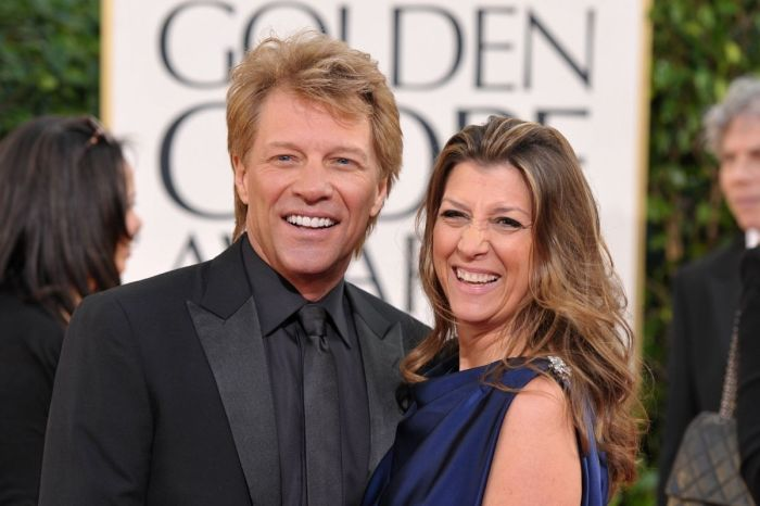 After 40-Years, Jon Bon Jovi is Still Married to His High School Sweetheart