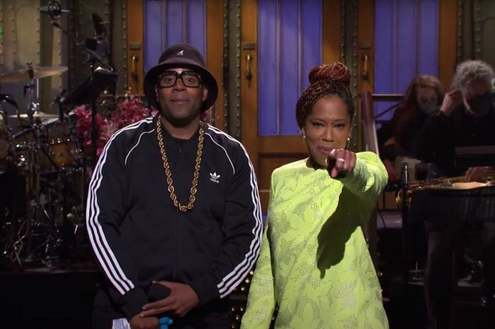 Regina King Stuns in 'SNL' Opening Monologue