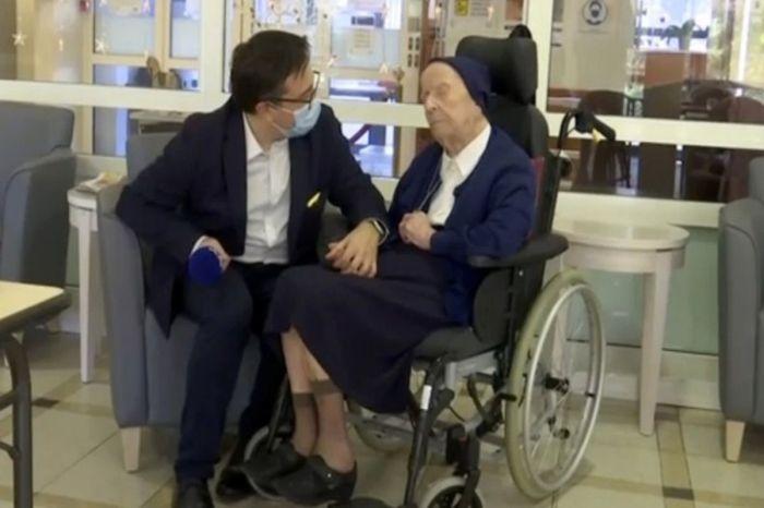 117-Year-Old French Nun Survives the Coronavirus!