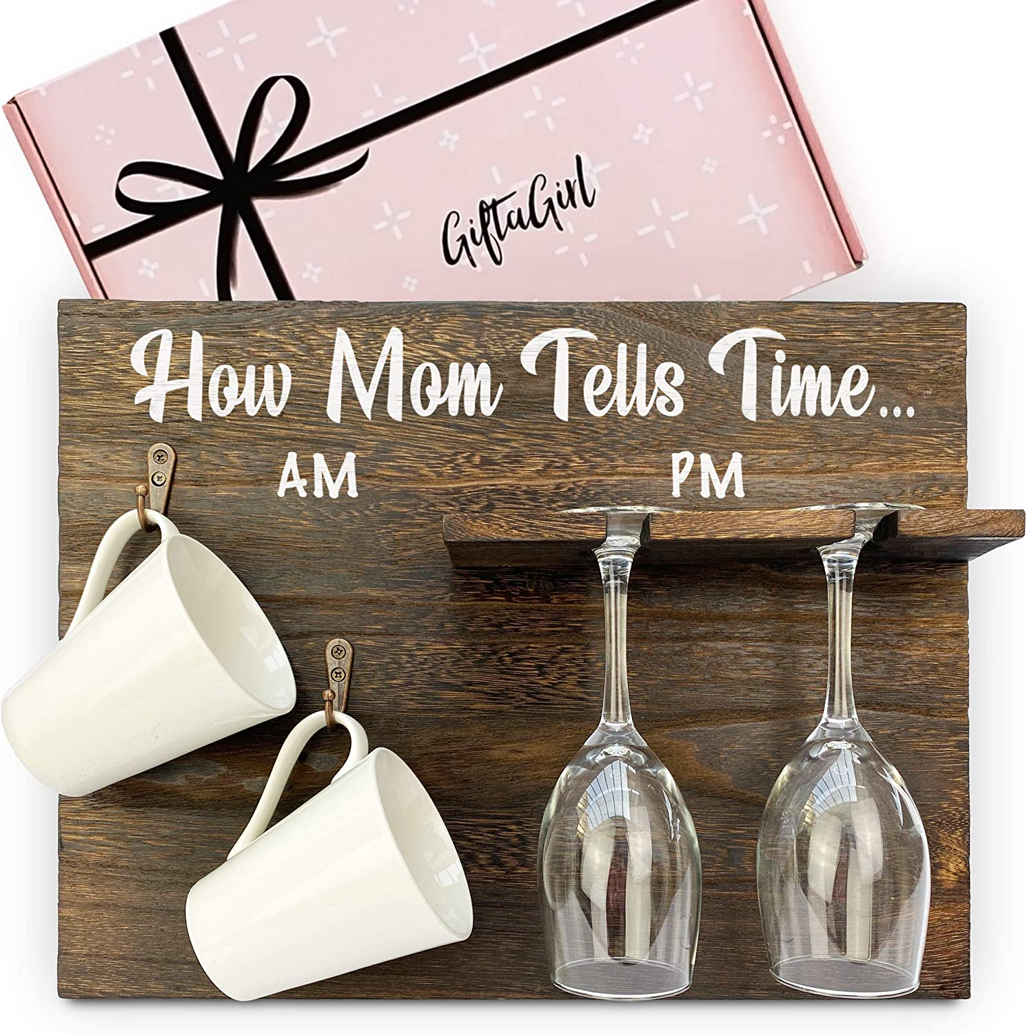 Very Popular Gifts for Mom or Birthday Gifts for Mom - Mom Gifts like this are a Little Cheeky, but are Fun Mom Birthday Gifts or Unique Gifts for Mom Who Has Everything. Mugs,Glasses Not Inc