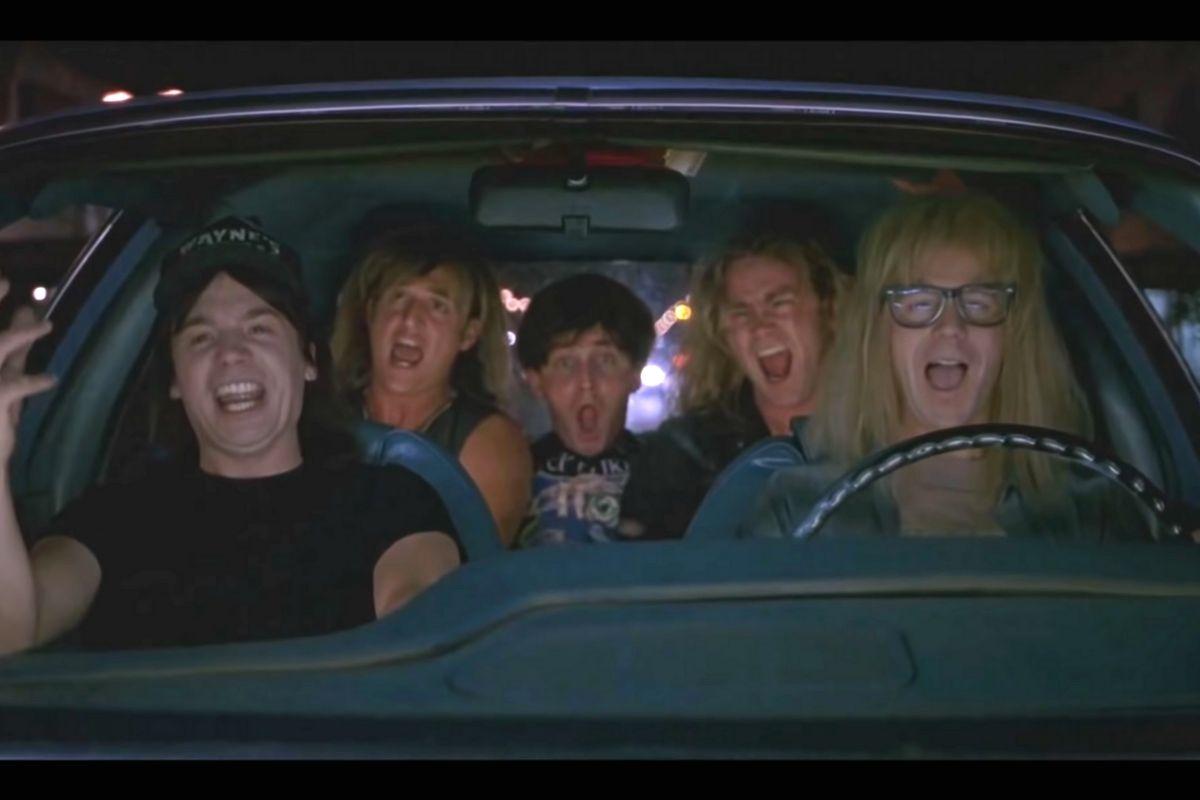"Behind 'Wayne's World's' Timeless ""Bohemian Rhapsody"" Scene"
