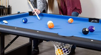 foldable pool table