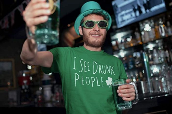 Be the Life of the Party in This Funny St. Patrick's Day T-Shirt