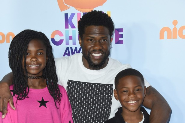 Comedian Kevin Hart May Just Be the Coolest Dad Ever