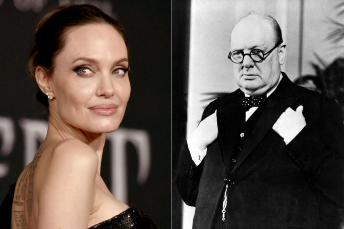 Angelina Jolie Sells Winston Churchill Painting for $11.5 million