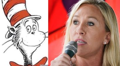 Rep. Marjorie Taylor Greene Co-Opts Dr. Seuss to Troll Joe Biden