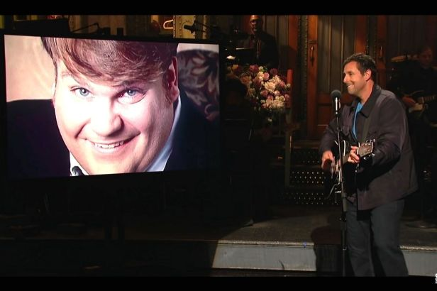 Have You Heard Adam Sandler's Emotional Chris Farley Tribute?