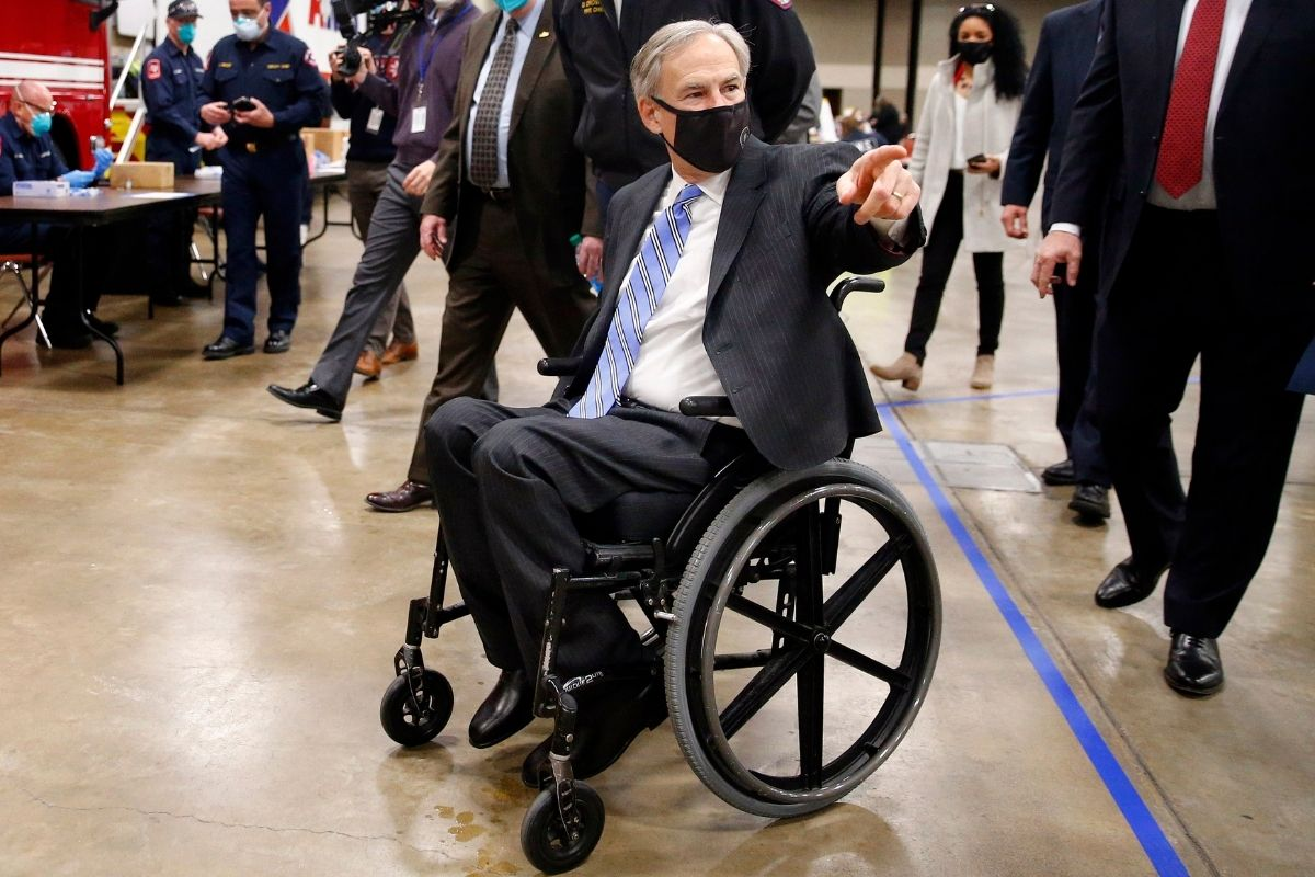 Why Does Greg Abbott Use a Wheelchair?