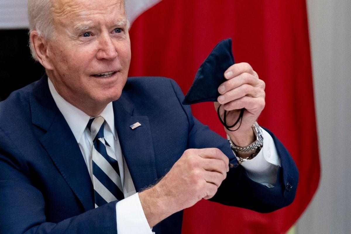 "Biden Calls Ending Texas Mask Mandate ""Neanderthal Thinking"""