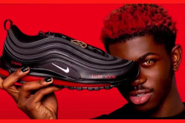 Lil Nas X Under Fire for Releasing 'Satan Shoes' with Real Human Blood and Lap Dancing on the 'Devil'