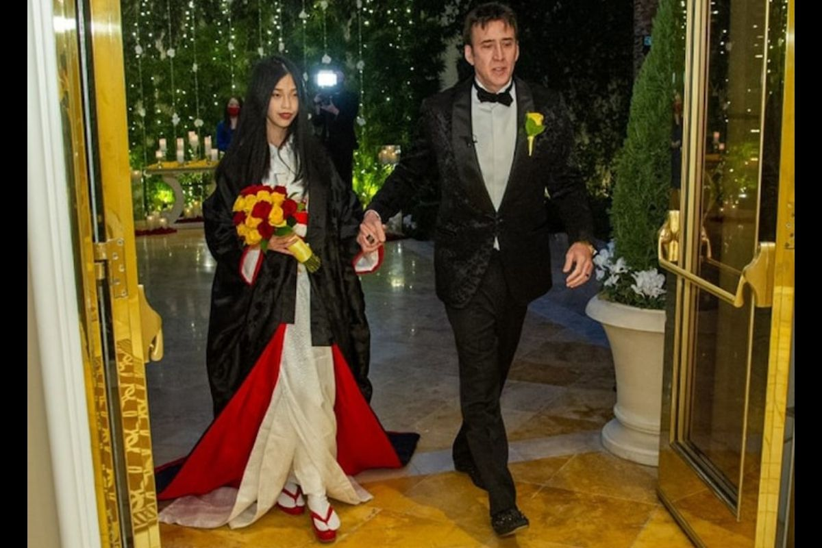 Nicolas Cage Gets Married for the Fifth Time To 26-Year-Old in Vegas
