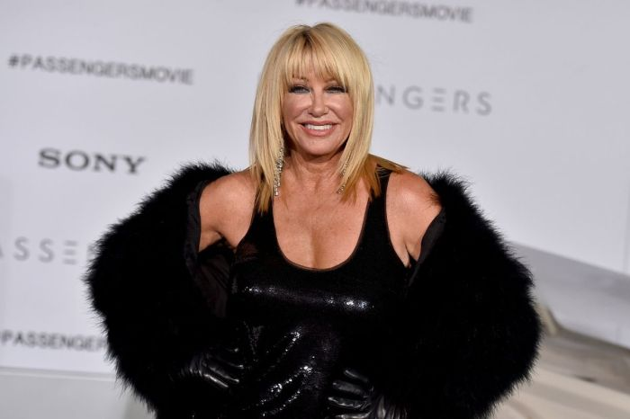 Suzanne Somers, 74, Says She Has Sex '3 Times Before Noon'
