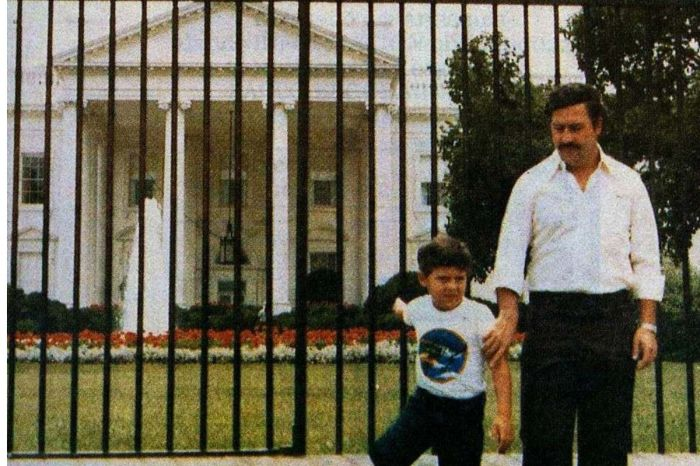 Remember When Pablo Escobar and His Son Visited the White House?