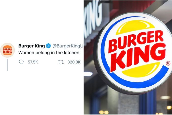 Burger King Sparks Outrage with 'Women Belong in the Kitchen' Tweet on International Women's Day