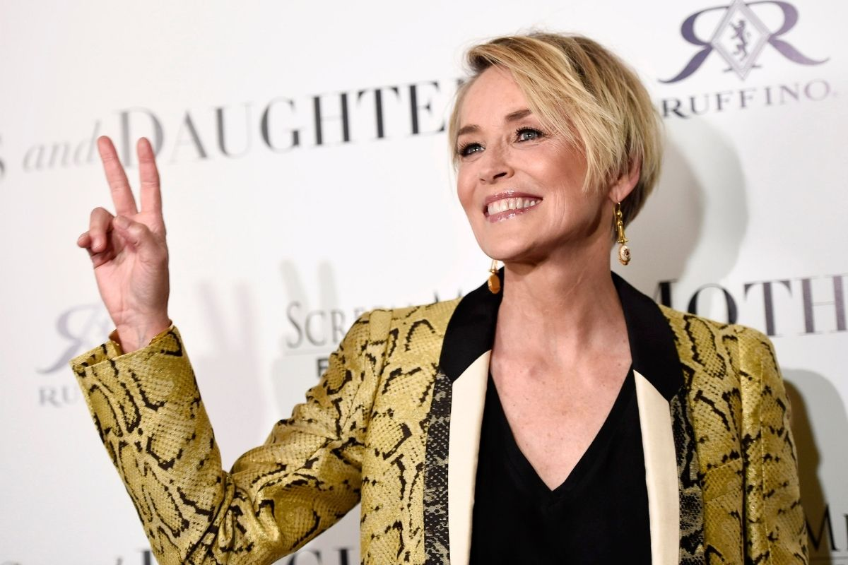 Sharon Stone was Struck By Lightning and Used To Be a Pickpocket