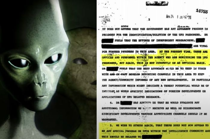 "CIA Releases Top Secret UFO-Related Documents, Available on ""The Black Vault"""